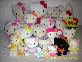 Hello Kitty Plush Collection 2012 by kratosisy