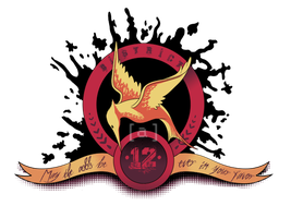 Mockingjay Crest by autumnicity