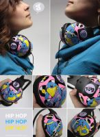 HipHop Headphones by Bobsmade