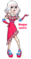 Monster High-Meagan Lectric by Sun-mist