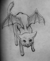 Demon Kitty by sphinx-69