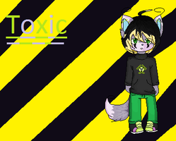 .:Toxic the Wolf:. by MelodyMuffin
