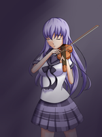 the inmortal violinist (I think you mean immortal) by yamon-venzli