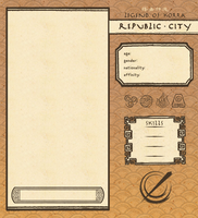 Republic City App Template by NeonRemix