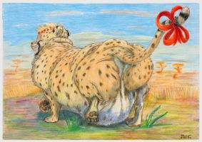 Fat Cheetah 2013 by SSsilver-c
