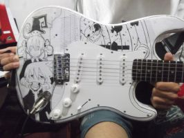 Soul Eater Guitar by thenubi