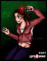 L4D: Pipe- Bomb Time with Zoey by Yiyo--Chan