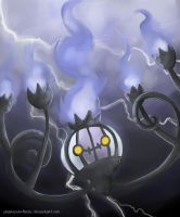 Silentium, the Chandelure by Pharaonenfuchs