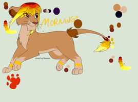 Morningy Ref sheet CE by Yesterday-Torrey