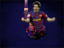 Messi - Barcelona by MUSEF