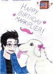 Happy Birthday Markiplier! by TheRealHiro