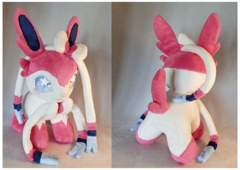 Sylveon Plush by StarMassacre