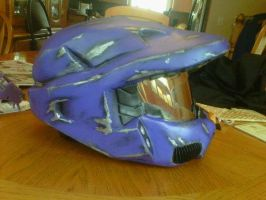 Finished helmet by PH3ON1X
