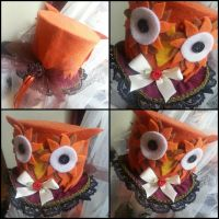 Owl Mini Top Hat by NoFlutter