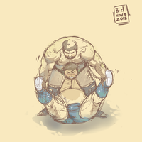 Double Leg Hold by beardrooler