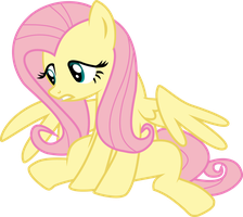 Upset Fluttershy by Elsia-pony