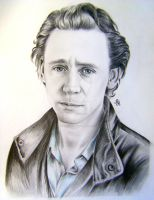 Thomas Hiddleston by ArinaReznikova