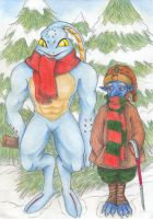 Chrono Cross Christmas Time by Refielle