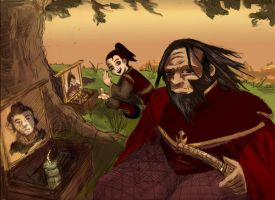 Iroh crossroad by Miraubin