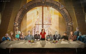 Last Supper - SGA style by Mella68