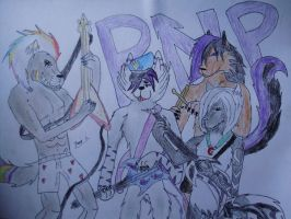 The PNP Band by shadowvampwolf