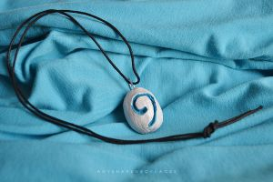 Hearthstone World of Warcraft Necklace by AnyShapeNecklaces
