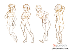 Poses ^_^ by Nieris