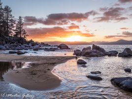 Sand Harbor Sunset150222-33 by MartinGollery