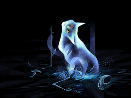 Ghost paw by gingaparachi