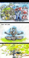 TFA Prowl: The Quiet Guy by The-Starhorse