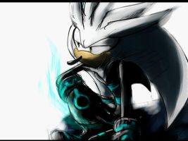 Silver the hedgehog ( Secret Freedom ) by Omiza