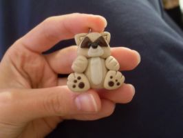 polymer clay mobile charms by Maca-mau
