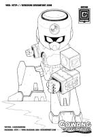 JIN LINE ART 2012 21 by GERCROW