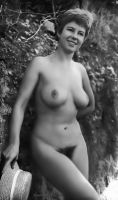 Classic Nudist Model by NJDVINTAGE