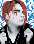 Gerard Way by FireAtFaye