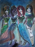 Mademoiselles by FoolsGolde