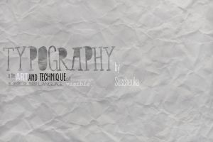 What is typography? by Suschenka