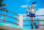 Shimakaze cosplay Photo by @fanored by FanoRED