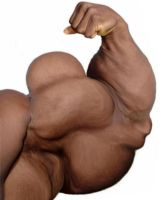 Really Huge Biceps by n-o-n-a-m-e