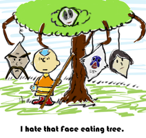 Koh the Face Eating Tree by TinyYellowMouse
