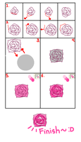 Drawing Rose Tutorial in Paint by Tiaschi810