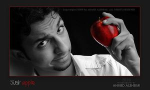 Just an apple by ahmed-Alsheme