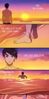 free! -- Drowning (tw: suicide) by Lily-Draws