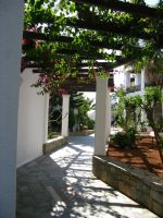 Greek Arbour pathway stock by Sassy-Stock