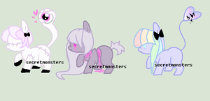 three little adopts by SecretMonsters