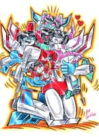 Daddy Starscream by blackhellcat