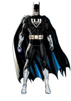 Black lantern batman by AzureKensei
