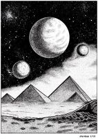 Cosmic pyramids by sternban