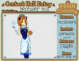PKMNC - December 2011 Contest by RanebowStitches