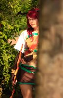 Waiting for the moment to hunt by Zhenya-Chan